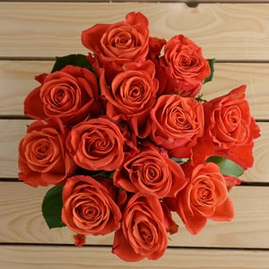 Orange Crush Bouquet Bunch | Buy Flowers in Dubai UAE | Gifts