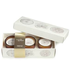 Myrtle & Moss Mini Candle Trio    Buy Candles in Dubai UAE   Gifts