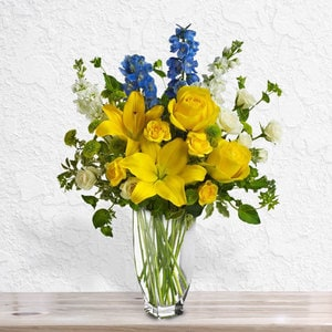 French Blue Sunshine | Buy Flowers in Dubai UAE | Gifts