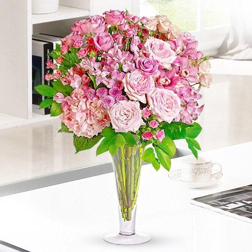 Plump Pink | Buy Flowers in Dubai UAE | Gifts