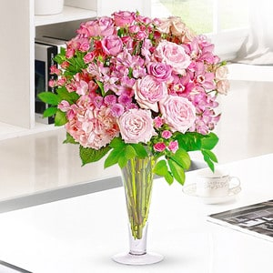 Plump Pink | Buy Flowers in Dubai UAE | Gifts
