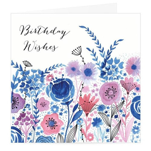 Birthday Wishes Premium Card