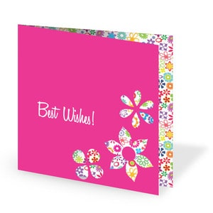 Fuchsia Darling Card | Buy Stationary in Dubai UAE | Gifts