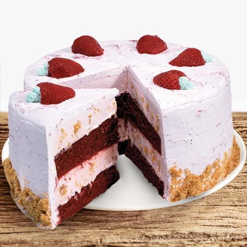 Coldstone Strawberry Passion Ice Cream Cake   Buy Cakes in Dubai UAE   Gifts