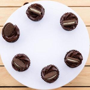 6 Chocolate Fudge Cupcakes | Buy Desserts in Dubai UAE | Gifts