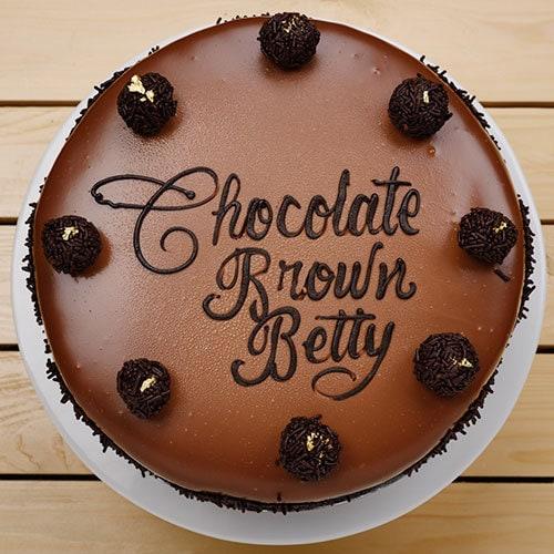 Chocolate Brown Betty | Buy Cakes in Dubai UAE | Gifts