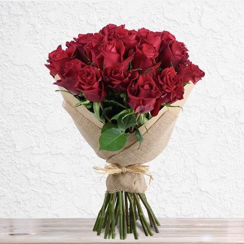 25 Premium Red Roses | Buy Flowers in Dubai UAE | Gifts