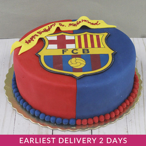 Messi FC Barcelona Cake | Buy Desserts in Dubai UAE | Gifts