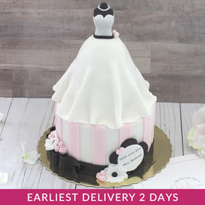 Bridal Dress Cake | Buy Cakes in Dubai UAE | Gifts