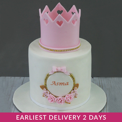 Princess Corwn Birthday Cake