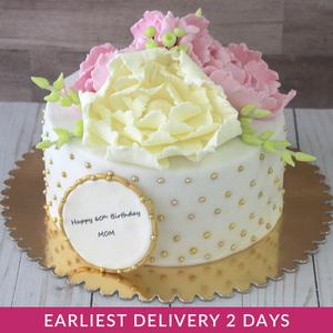 Flower Cake | Buy Cakes in Dubai UAE | Gifts