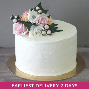 Elegant Flower Cake | Buy Cakes in Dubai UAE | Gifts