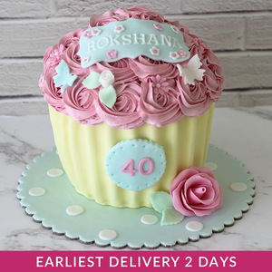 Flower Cupcake Smash Cake | Buy Cakes in Dubai UAE | Gifts