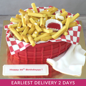 French Fries Theme Cake | Buy Cakes in Dubai UAE | Gifts