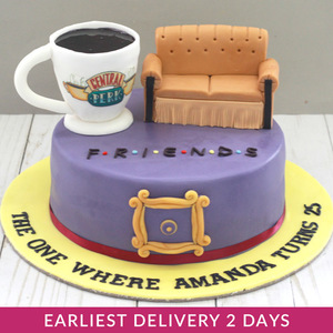 Friends Theme Cake | Buy Cakes in Dubai UAE | Gifts