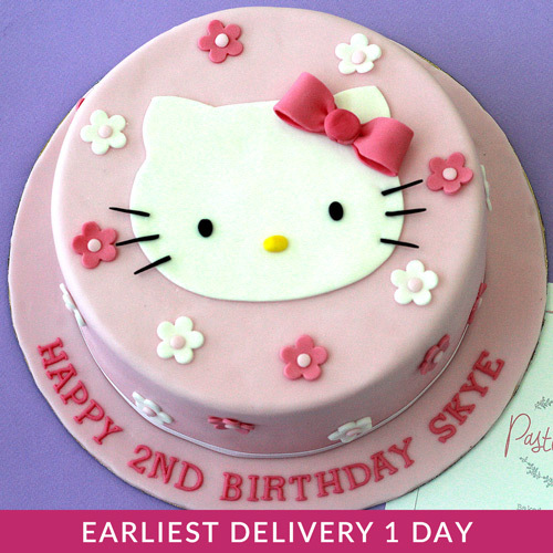 Hello Kitty Themed Cake Buy Cakes In Dubai Uae Gifts