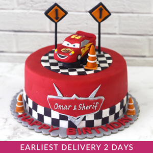 Mcqueen Cake | Buy Cakes in Dubai UAE | Gifts