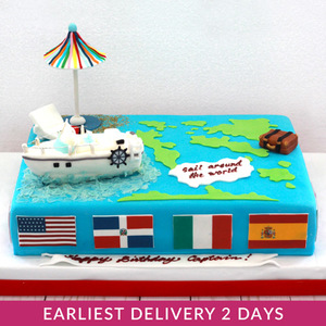 Sailing Themed Cake | Buy Cakes in Dubai UAE | Gifts