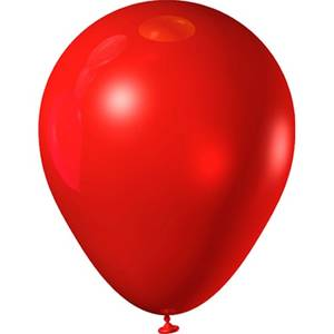 Red rubber balloon 1474190033