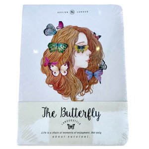 The Butterfly Girl Notebook | Buy Stationary in Dubai UAE | Gifts