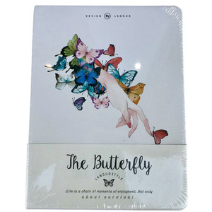 The Butterfly Hand Notebook | Buy Stationary in Dubai UAE | Gifts