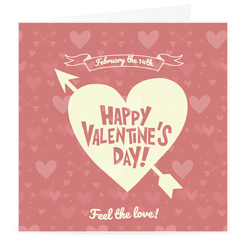 Happy Valentine's Day Card | Buy Stationary in Dubai UAE | Gifts