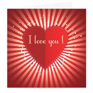 Love You Valentine Card | Buy Stationary in Dubai UAE | Gifts