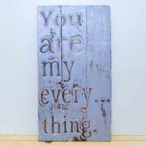 You are my everything wooden board | Buy Gifts in Dubai UAE | Gifts