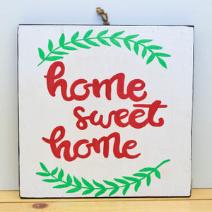 Home Sweet Home (Wooden Board) | Buy Gifts in Dubai UAE | Gifts