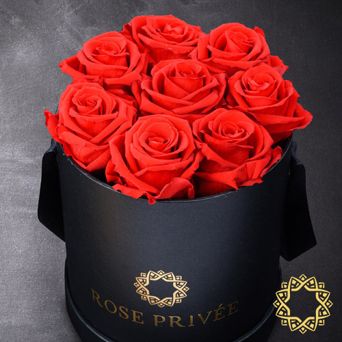 Rose Privée Black Box, Red Roses | Buy Flowers in Dubai UAE | Gifts