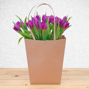 Purple Garden Tulips | Buy Flowers in Dubai UAE | Gifts