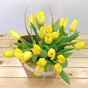 Yellow Garden Tulips | Buy Flowers in Dubai UAE | Gifts