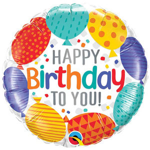 Happy Birthday Foil Balloon | Buy Balloons in Dubai UAE | Gifts
