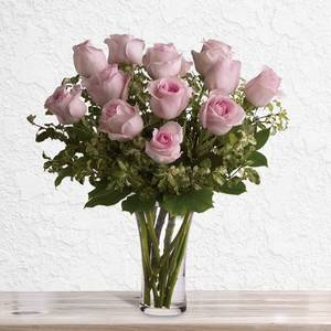 A Dozen Pink Roses | Buy Flowers in Dubai UAE | Gifts