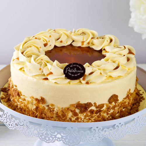 Salted Caramel By Pastel Cakes Serves 8