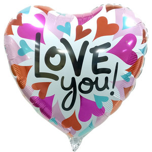 I Love You Foil Balloon 1 | Buy Balloons in Dubai UAE | Gifts