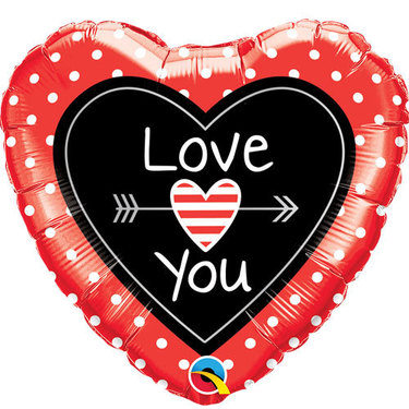 I Love You Foil Balloon 2 | Buy Balloons in Dubai UAE | Gifts