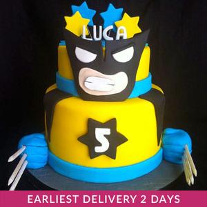 Wolverine Cake | Cake Delivery in Dubai