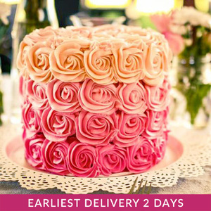 Rosette cake | Buy Cakes in Dubai UAE | Gifts