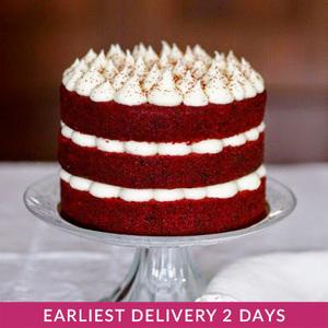 Red Velvet Naked Cake | Buy Cakes in Dubai UAE | Gifts