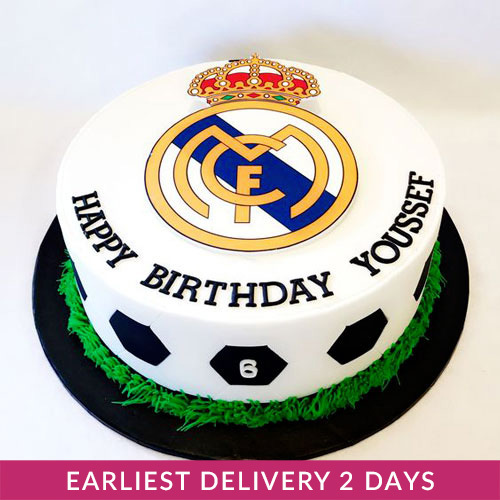 Real Madrid Cake Buy Cakes In Dubai Uae Gifts