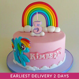 Rainbow Dash Cake | Buy Cakes in Dubai UAE | Gifts