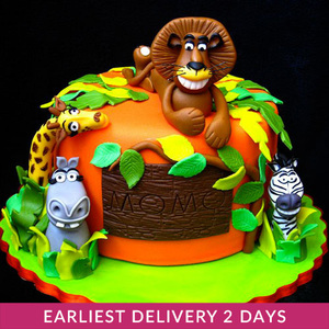 Madagascar Cake | Cake Delivery in Dubai