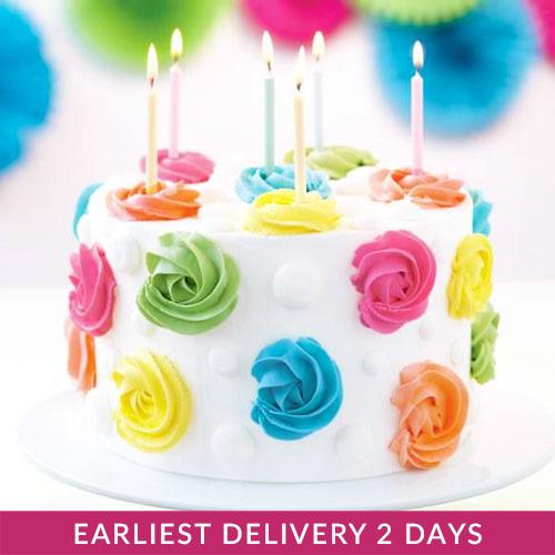 Flower Celebration Cake