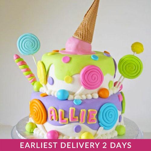 Candyland Cake   Buy Cakes in Dubai UAE   Gifts