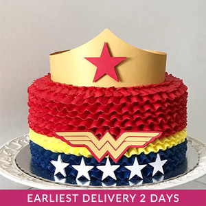 Wonder Woman Cake | Cake Delivery in Dubai