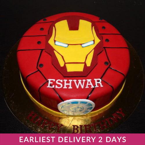 Iron Man Cake Cake Delivery In Dubai