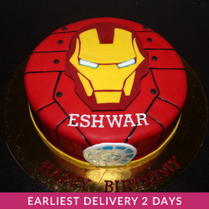 Iron Man Cake | Cake Delivery in Dubai