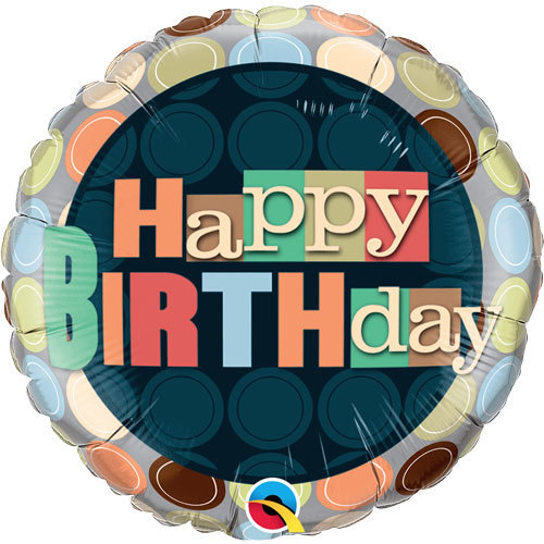 Happy Birthday Foil Balloon 8 | Buy Balloons in Dubai UAE | Gifts