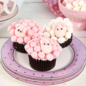 Eid Al Adha Chocolate and Vanilla Cupcake   Buy Cakes in Dubai UAE   Gifts